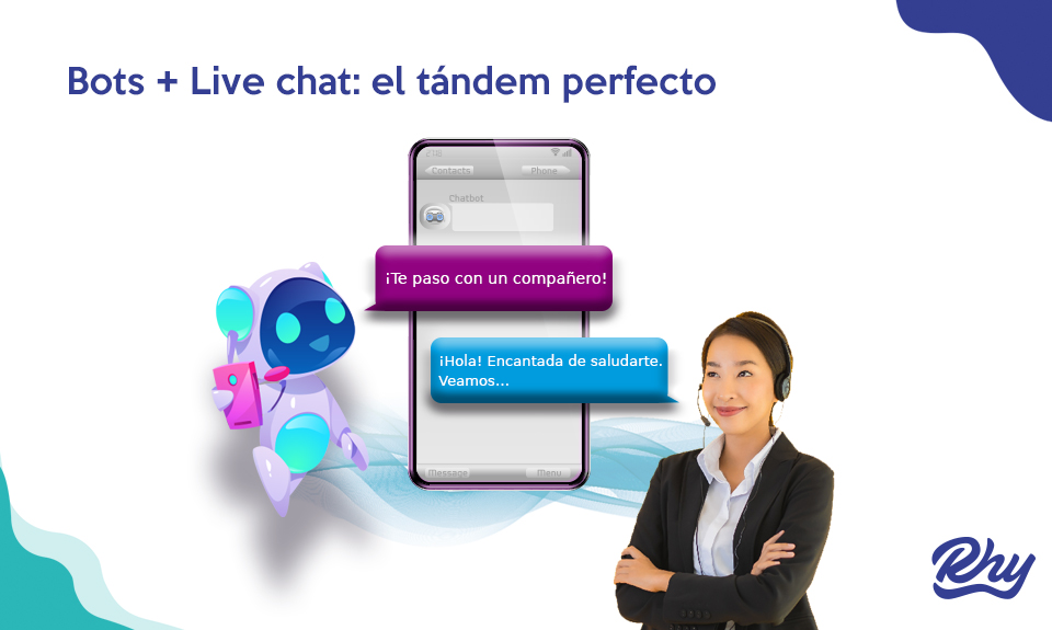 chatbot live chat tandem perfecto